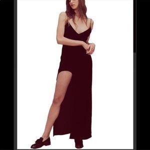 NWT For Loves and Lemon Nadine Velvet Maxi Dress